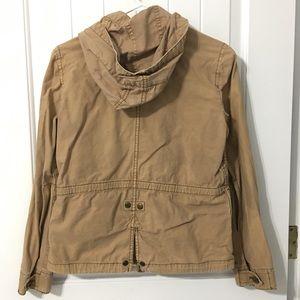 J. Crew Jackets & Coats - J. Crew Khaki Utility Jacket